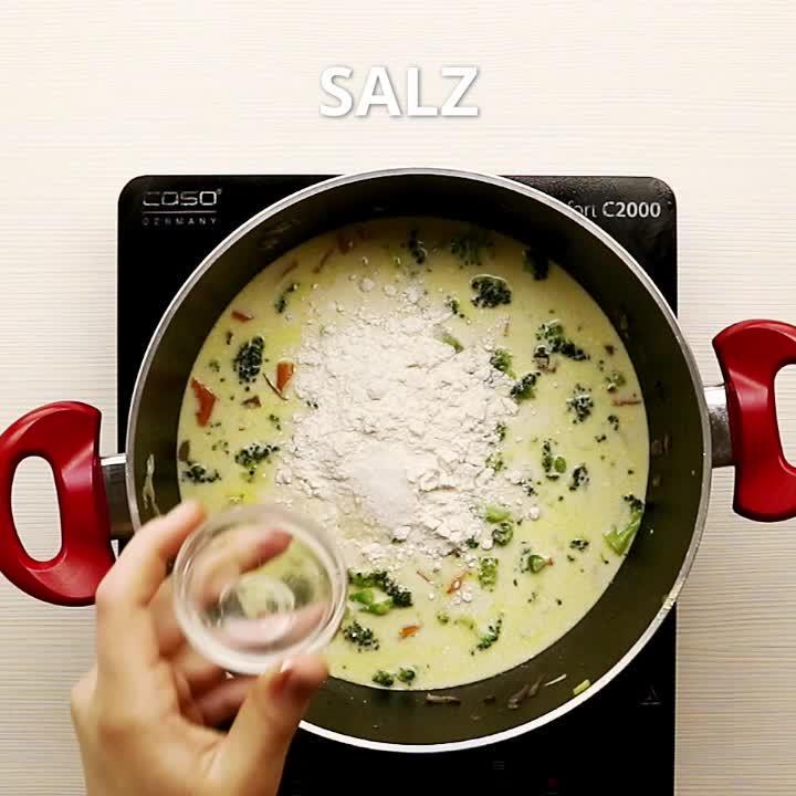 Brokkoli Käse Suppe
