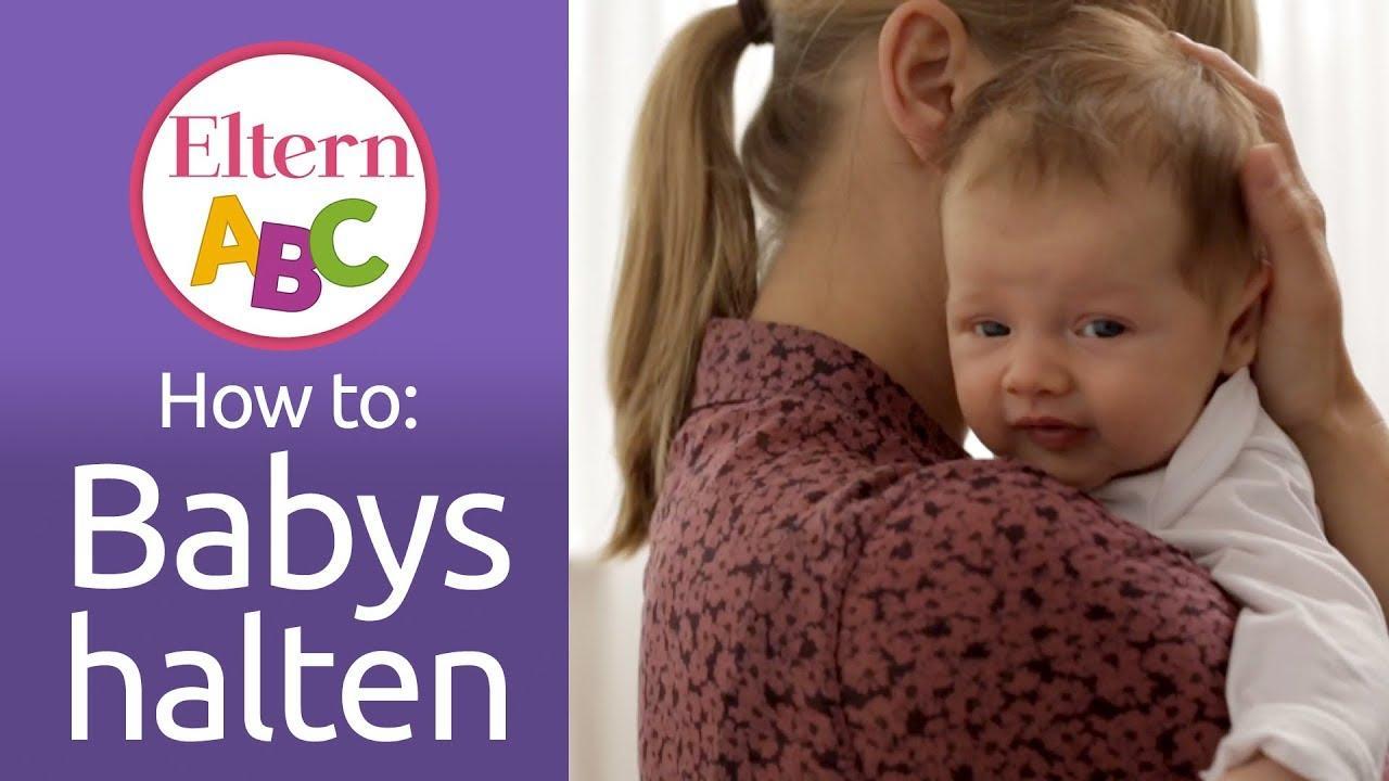 Babys halten & tragen